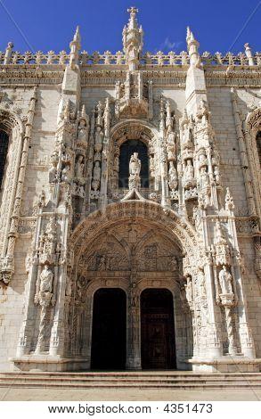 Portugal, Lisbon: Jeronimos Monastery