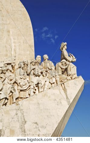 Portugal, Lisbon: Monument To The Discoveries