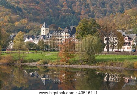 Autumn in Mosel Valley,Germany