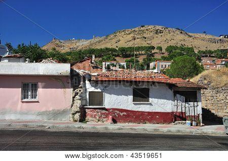 Tradional Turkish Houses, Old Village Street (pergamon)
