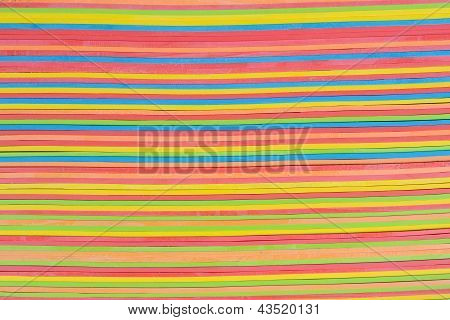 Rubber Strips Horizontal Pattern