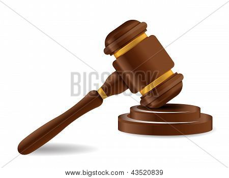 Gavel And Sound Block