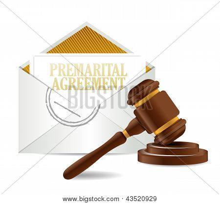 Prenup And Gavel