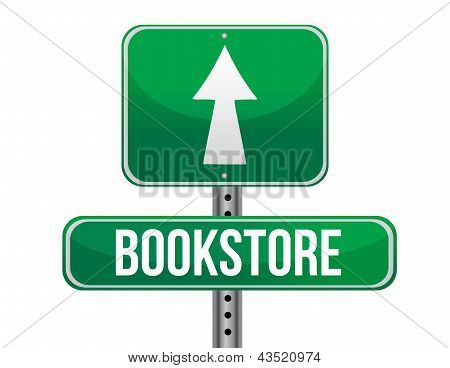 Bookstore Road Sign