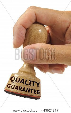quality and guarantee