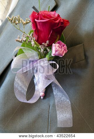 Wedding Button Flower