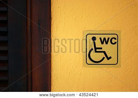 Wc Label