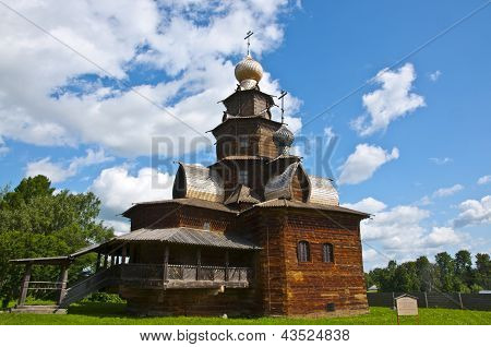 Wooden Russian Orthodox Church