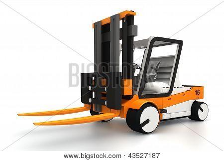 Forklifter 3D Model