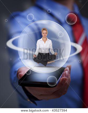 Mantenha o equilíbrio, a sobrecarga de informações digitais