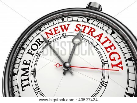 Time For New Strategy On Clock