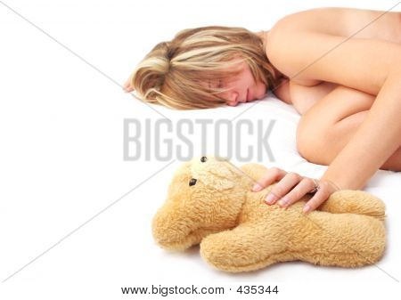 Asleep With Teddy