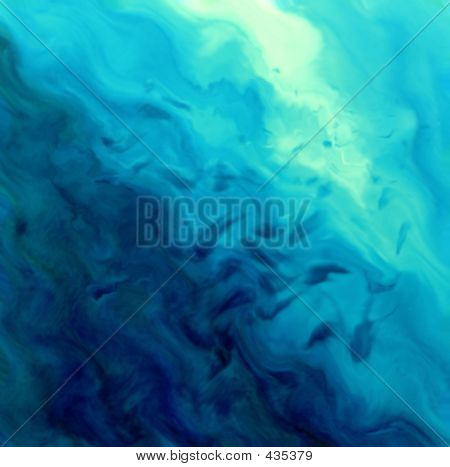 Blue Watery Background