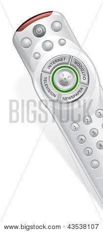 Promotion technology on TV remote