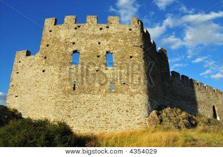 West Wall Of Swiss Castle