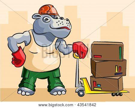 Hippopotamus - Loader.eps
