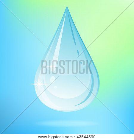 Vector Water Drop.