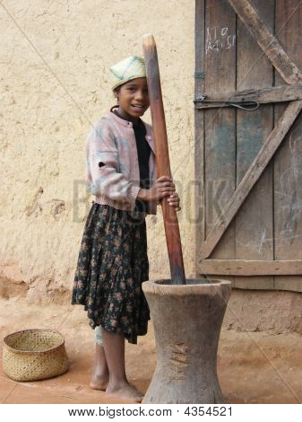 Native Malagasy Girl