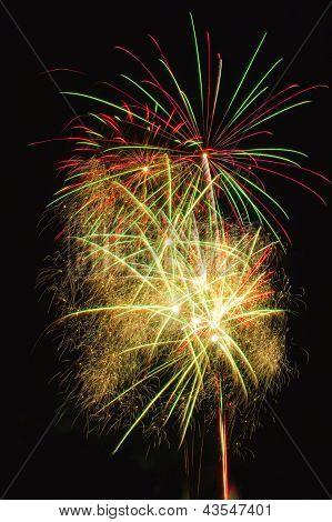 Multiple Fireworks
