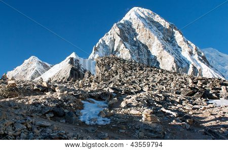 Kala Patthar view point of Mount Everest - Nepal