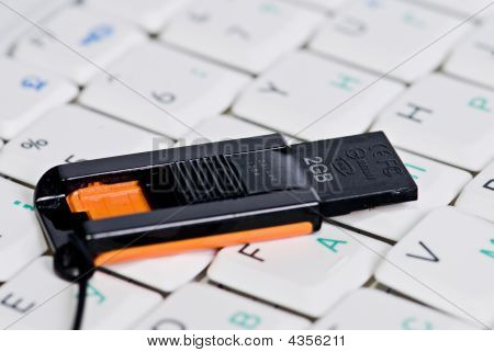 Flash Memory On Keyboard
