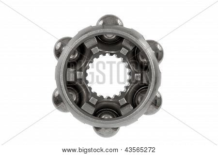 Constant Velocity Joints Bearing, Bearing, Isolated On A White Background