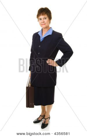 Attractive Mature Businesswoman