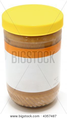 Jar Of Crunchy Peanut Butter