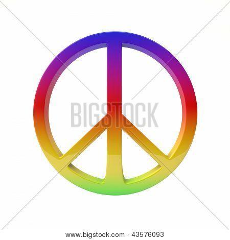 A paz é alegria