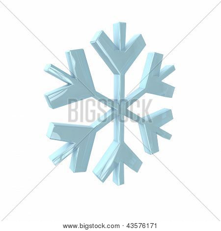 Snowflake In 3D