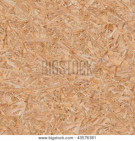 Pressionado o painel de madeira (OSB). Textura perfeita.