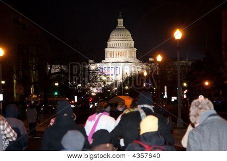 US Capitol bei Eröffnung