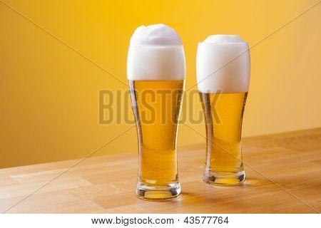chilled refreshing tasty german beer