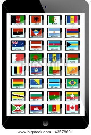 Set Of Flag