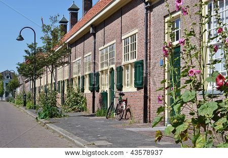 Hofje van Paauw in Delft.