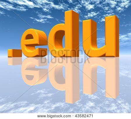 Domínio de nível superior de EDU