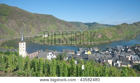 Bremm,Mosel River,Germany