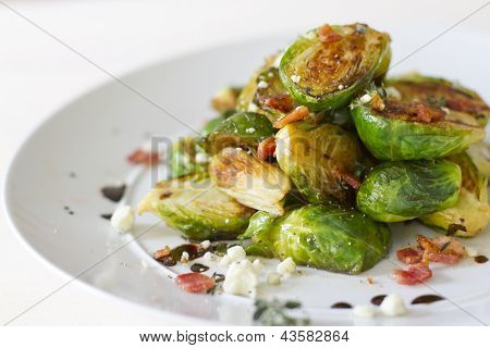 Carmelized Brussel Sprouts
