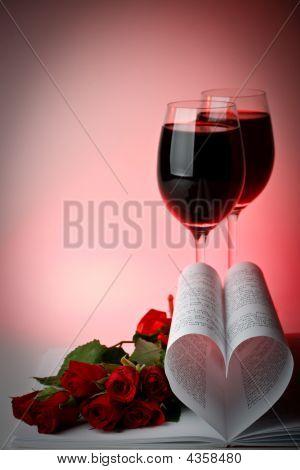 Tarjeta del día de San Valentín.
