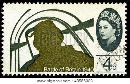 Britain Battle Of Britain Postage Stamp