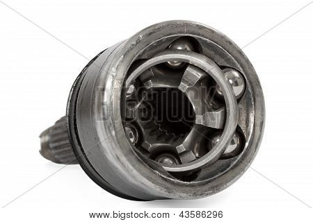 Constant Velocity Joints, Bearing, Isolated On A White Background