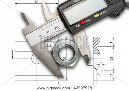Digital Vernier Calipers