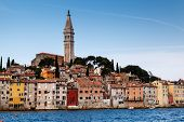 Medieval City Of Rovinj And Saint Euphemia Cathedral, Istria, Croatia