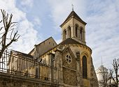 Church Of St. Peter Of Montmartre (xvii C.), Paris