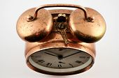 Vintage Copper Alarm Clock