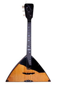 pic of string instrument  - The balalaika is a stringed instrument of Russian origin - JPG