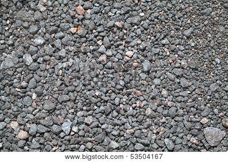 Close-up Urban Road Ground Texture