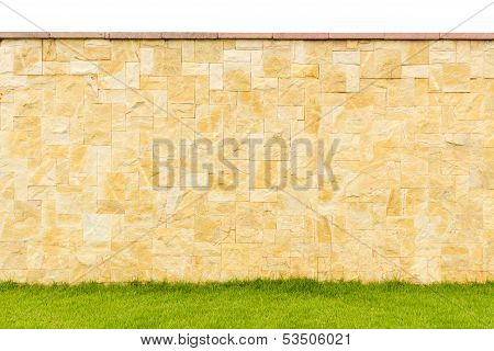 Pattern Color Of Modern Style Design Decorative Fence Real Stone Wall Surface