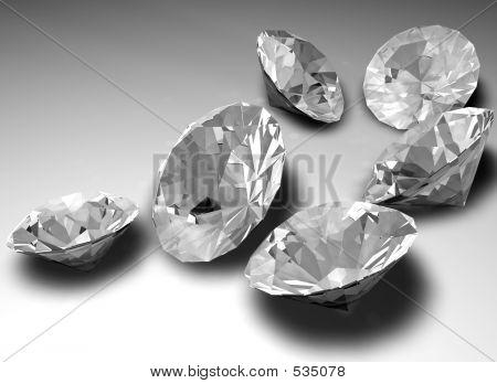 Diamantes sueltos