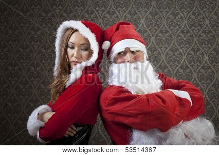 Santa Claus and Mrs. Santa is trying to solve problems with their relationships.